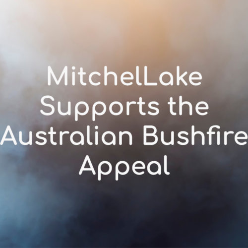 MitchelLake Supports the Australian Bushfire Appeal
